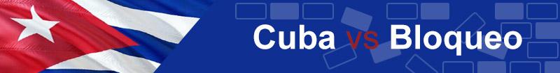 Cuba vs bloqueo: #NoMásBloqueo