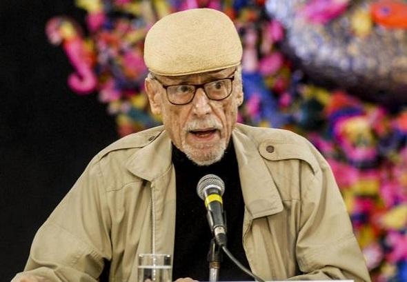 El poeta Roberto Fernández Retamar, presidente de Casa de las Américas. Foto: Dunia Álvarez Palacios