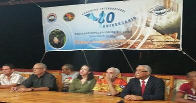 Caibarién sede del Congreso Internacional de la Sociedad Espeleológica de Cuba
