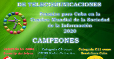 ProyectosCubanosCampeonesWSIS2020