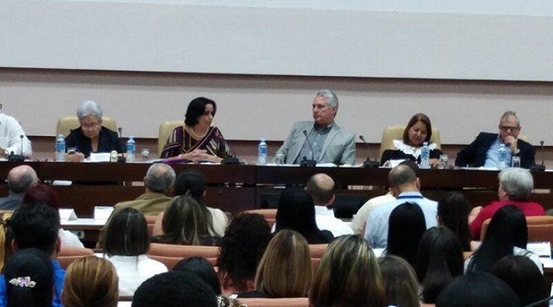 Preside Díaz-Canel balance de la Fiscalía General de la República