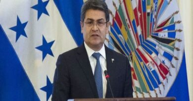 Presidente de Honduras, Juan Orlando Hernández Alvarado