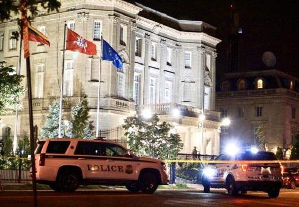 Urgente: Abren fuego contra embajada cubana en Washington