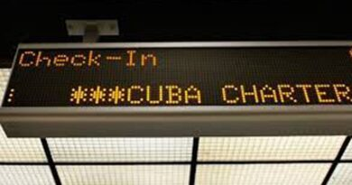Limita Estados Unidos cantidad anual de vuelos chárter a Cuba