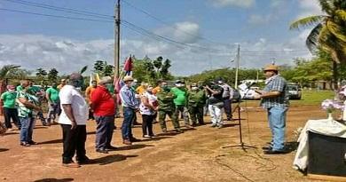 Campesinos caibarienenses comprometidos en el aniversario 59 de la ANAP