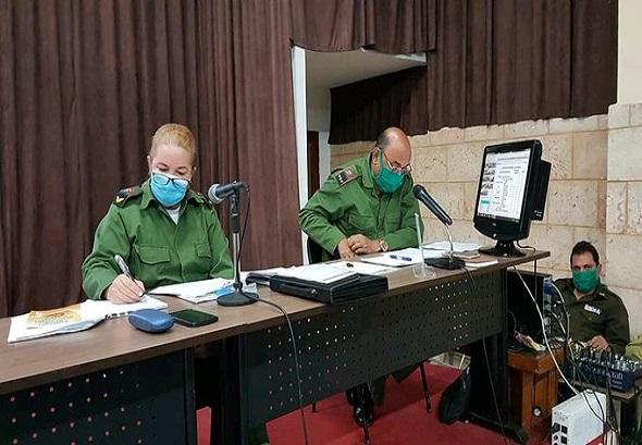 Consejo de Defensa evalúa situación epidemiológica en Villa Clara
