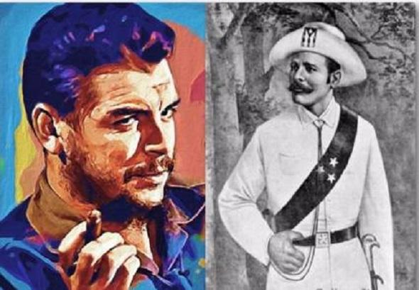 Con la inspiración de Maceo y Che