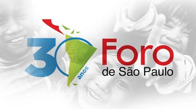 Julio de 2020: a 30 años del nacimiento del Foro de São Paulo