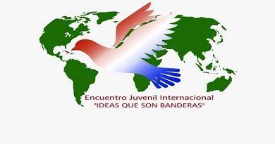 poster encuentro juvenil internacional
