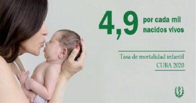 mortalidad infantil cuba