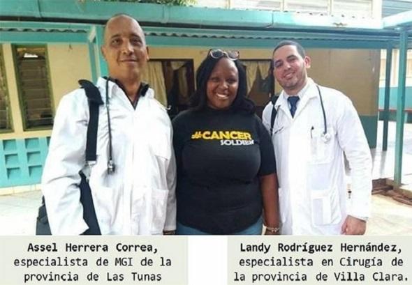 MéDICOS CUBANOS SECUESTRADOS
