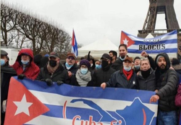 francia,bloqueo cuba