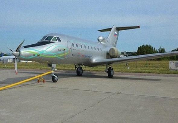 avión electrico ruso