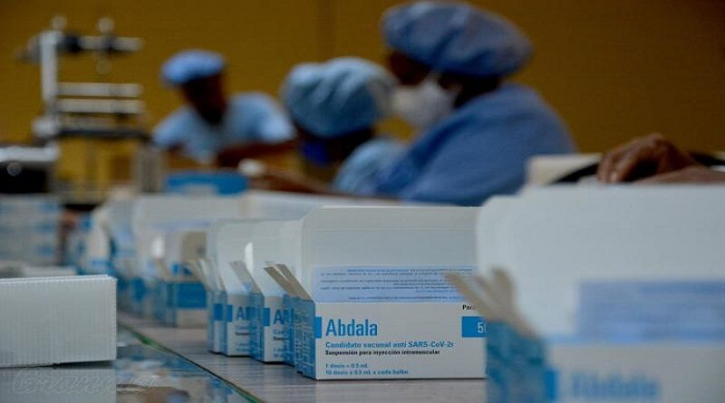 En Cuba se han fabricado 30 millones de dosis de la vacuna Abdala